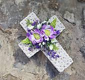 betónový krížik na hrob