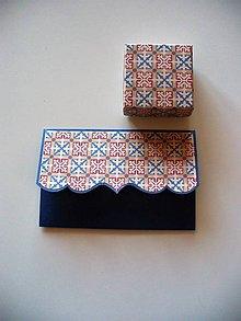 Papiernictvo - sada na šperk a hotovosť - 9927688_