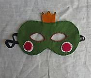 Hračky - Maska Cárovná žabka - 9926966_