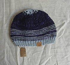 Detské čiapky - Detská čiapka z fair-trade merina a alpaky - 9927244_