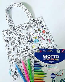 Detské tašky - Taška pre malých umelcov - 9927787_