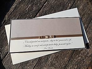 Papiernictvo - Pohľadnica k promóciám Elegant - 9927307_