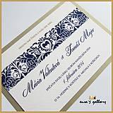 Svadobné oznámenie ~Folklor~