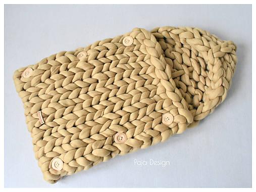 Textil - Hebký hrejivý pletený fusak - 9926496_