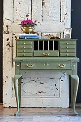 Nábytok - Písací stolík Olive - Predaný! - 9926375_