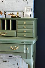 Nábytok - Písací stolík Olive - Predaný! - 9926376_