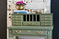 Nábytok - Písací stolík Olive - Predaný! - 9926377_
