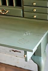 Nábytok - Písací stolík Olive - Predaný! - 9926378_