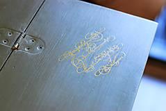Nábytok - Písací stolík Olive - Predaný! - 9926379_