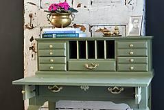 Nábytok - Písací stolík Olive - Predaný! - 9926380_