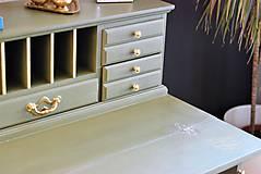 Nábytok - Písací stolík Olive - Predaný! - 9926382_