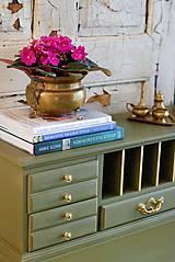 Nábytok - Písací stolík Olive - Predaný! - 9926383_