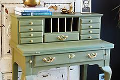 Nábytok - Písací stolík Olive - Predaný! - 9926385_