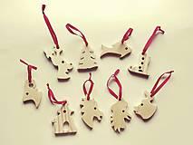 Dekorácie - Ozdoby na vianočný stromček - 9927557_