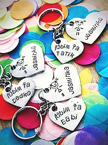 Kľúčenky - srdiečka .... všade samé srdiečka :))) - 9930505_
