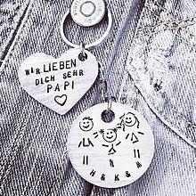 Kľúčenky - Ich liebe .... FAMILIE - 9930542_