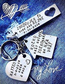 Kľúčenky - ZBOŽŇUJEM ŤA VIAC AKO REZNE :) - 9930561_