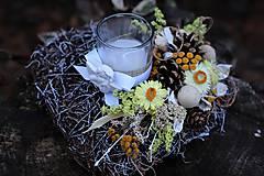 Dekorácie - Srdiečko na hrob - 9929728_