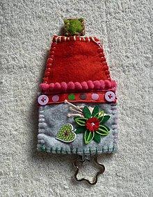 Kľúčenky - Domčúrik na kľúčik - 9930244_