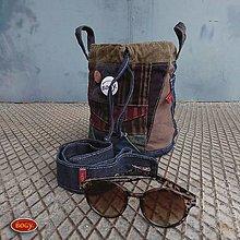 Kabelky - 2v1 - mini kabelka nebo sešívaný koš 12 + 2xplacka - 9929281_