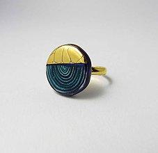 Prstene - Tana šperky - keramika/zlato - 9930596_