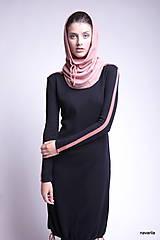 Šaty - JORY-šaty se sukní staženou šňůrkami - 9929382_