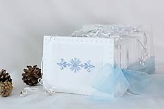 Dekorácie - Ľadové ostrie - folk vyšívaný adventný kalendár - 9931262_