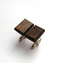 Šperky - Palisandrové obdĺžničky - 9929511_