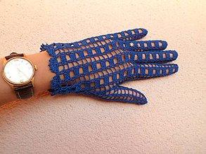 Rukavice - Háčkované rukavičky - 9932265_