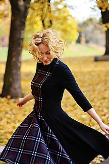 Šaty - Úpletové šaty KARIN, černé - 9932410_