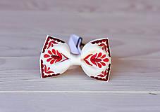 Doplnky - Pánsky vyšívaný motýlik v rôznych farbách - 9934052_