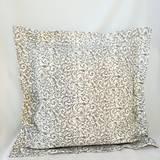 Úžitkový textil - Dekoračný vankúš svetlo sivý - 9933030_