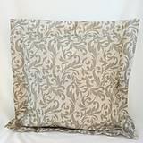 Úžitkový textil - Dekoračný vankúš šedý - 9933045_