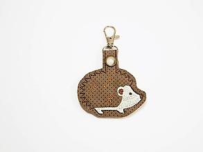 Kľúčenky - Prívesok ježko - 9933668_
