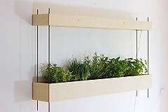Nádoby - Domáca záhradka s profi led grow lampou Valoya - 9932063_