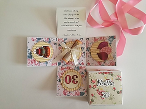 Papiernictvo - Exploding box Narodeninový kvet - 9931372_