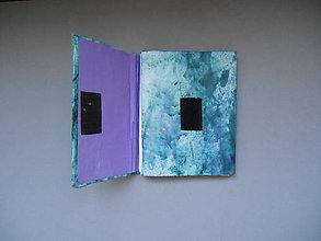 Papiernictvo - notes so suchým zipsom - 9933778_