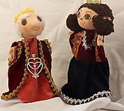Hračky - Maňuška. Bábika Kráľ a kráľovna. - 9931965_