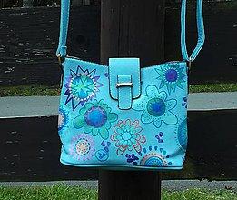 Kabelky - Maľovaná kabelka 3 - 9934531_