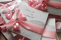 Papiernictvo - Svadobné oznámenie-Bride - 9931963_
