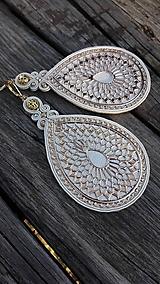 Náušnice - Golden lace - 9933343_