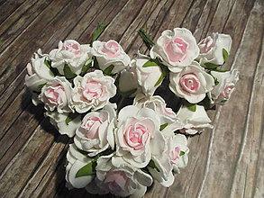 Polotovary - Penové ružičky (Ružová) - 9934165_