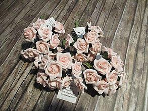 Polotovary - Penové ružičky - 9934202_