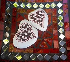 Drobnosti - Srdiečka - Na kameni maľované - 9934336_