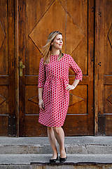Tehotenské/Na dojčenie - Tehotenské šaty DENIM BELLY - 9934689_