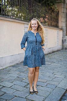 Šaty - Šaty na dojčenie ME TOO - riflové - 9934717_