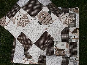 Textil - Sovičky v hnedom... - 9933040_