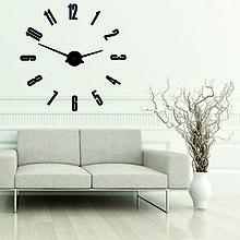 Svietidlá a sviečky - Moderné nástenné hodiny ARABIC PLEXI (Oranžová) - 9932927_