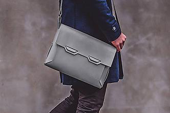 Veľké tašky - Messenger ALL IN Origami Stone - 9932090_