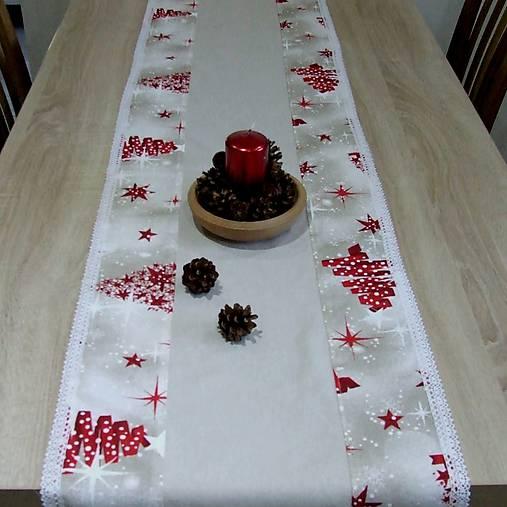cfa4fdbf0cb2 MERRY CHRISTMAS - vianočný stredový obrus (3)   atelierSISA - SAShE ...